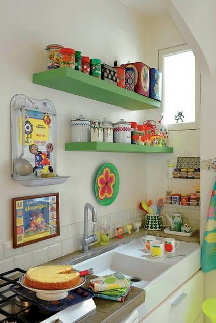 decoracao cozinha nichos : decoracao cozinha nichos:Para decorar y reformar una cocina pequeña tienes que mantener
