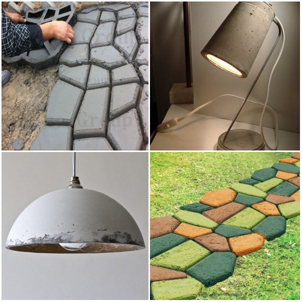 Ideas con cemento