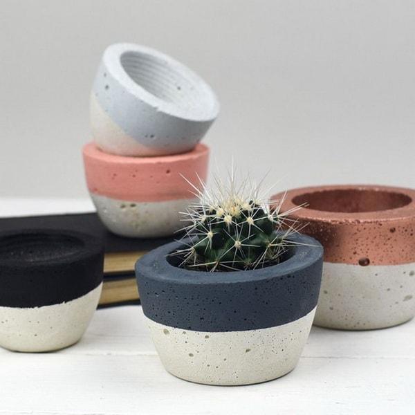 Manualidades fáciles con cemento