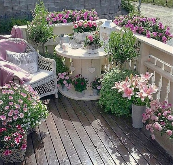 17 Best Ideas About Gardening On Pinterest: Mesas Hechas Con Bobinas De Cable Recicladas. Muebles DIY