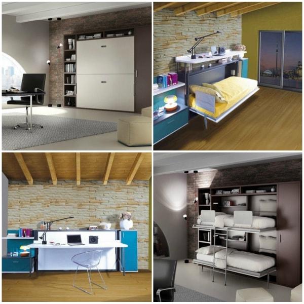 Muebles inteligentes para ahorrar espacio muebles funcionales decoratrucos - Muebles funcionales para espacios reducidos ...