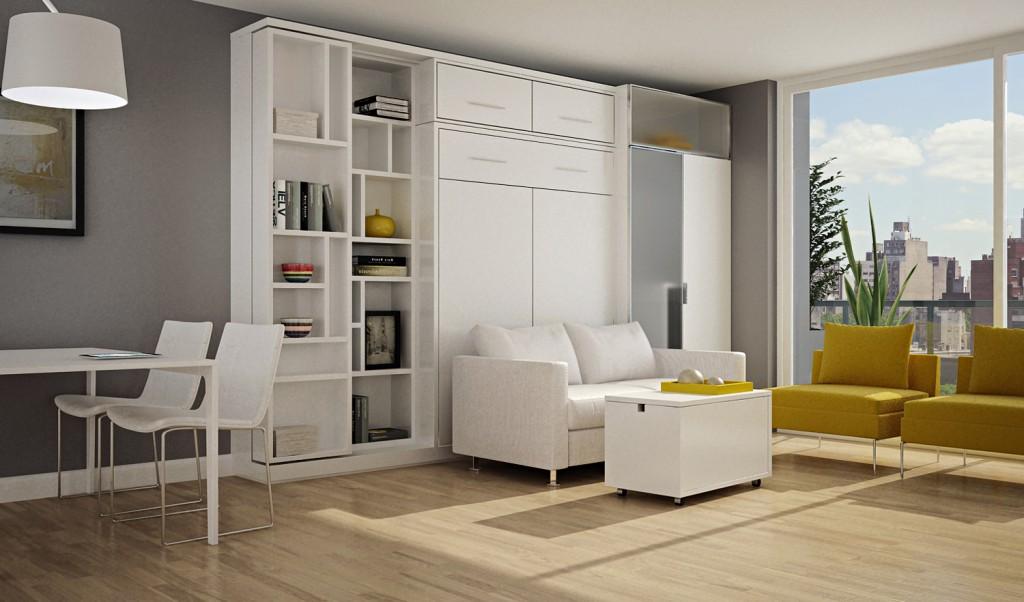 Mobiliario para monoambiente