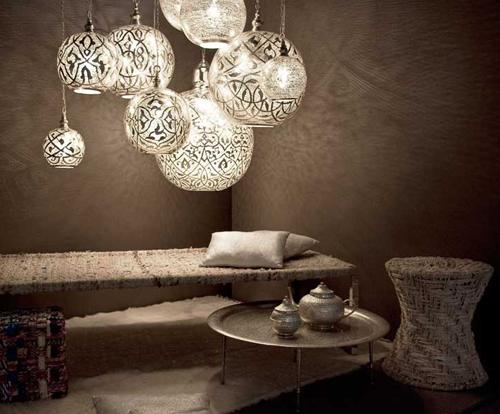 Ideas de decoración originales: lámparas egipcias