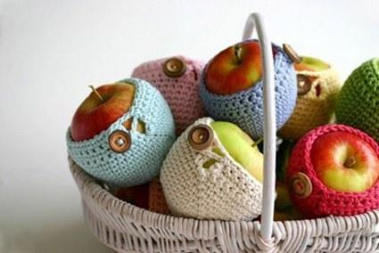 Manzanas crochet