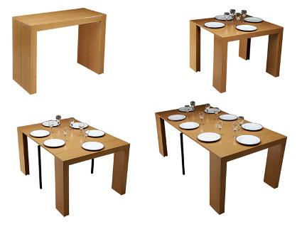 Mesas de comedor para espacios pequeños - DecoraTrucos
