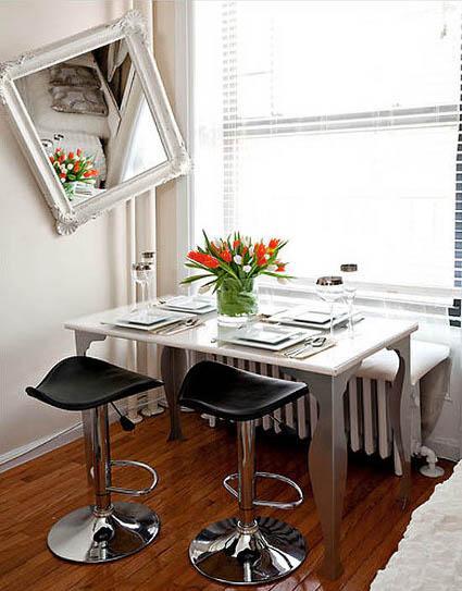 Mesa para un comedor pequeño - DecoraTrucosDecoraTrucos