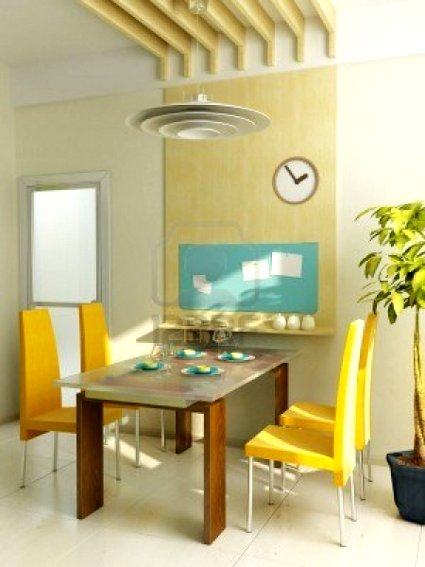 Mesas de comedor para espacios pequeños - DecoraTrucosDecoraTrucos