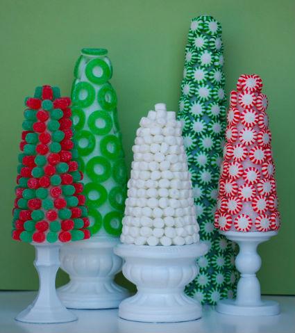 Adornos navideños en poliespan