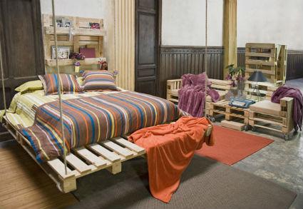 Original cama con poco dinero