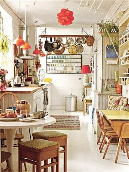 Cocinas retro Â« decoratrucos