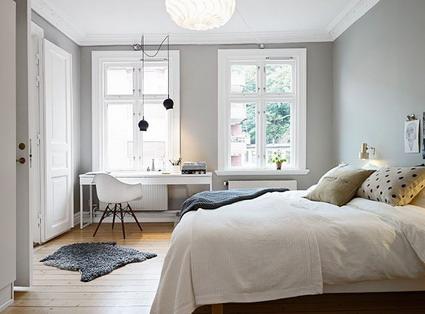 decoracion gris habitacion