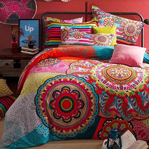 Ropa de cama de mandalas