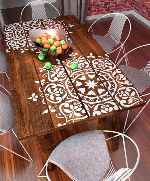 Pegatinas de mandalas para mesas