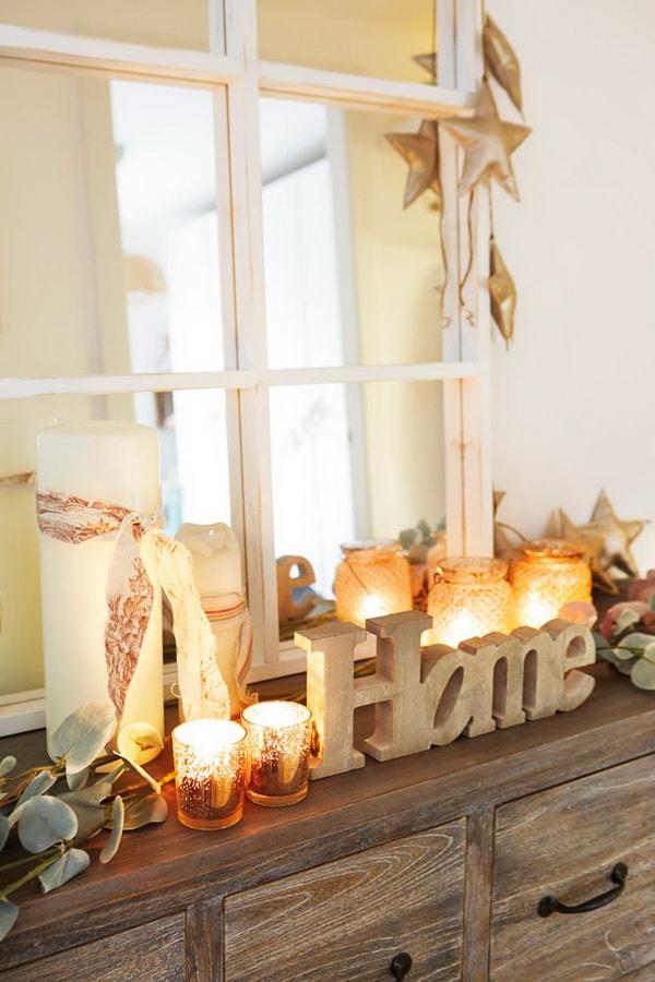 Velas para decorar recibidores