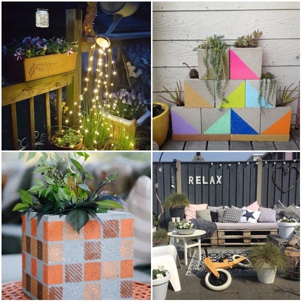 Ideas para decorar exteriores con poco dinero