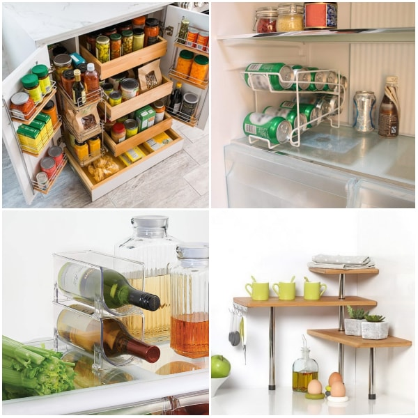 Ideas de almacenamiento para cocinas