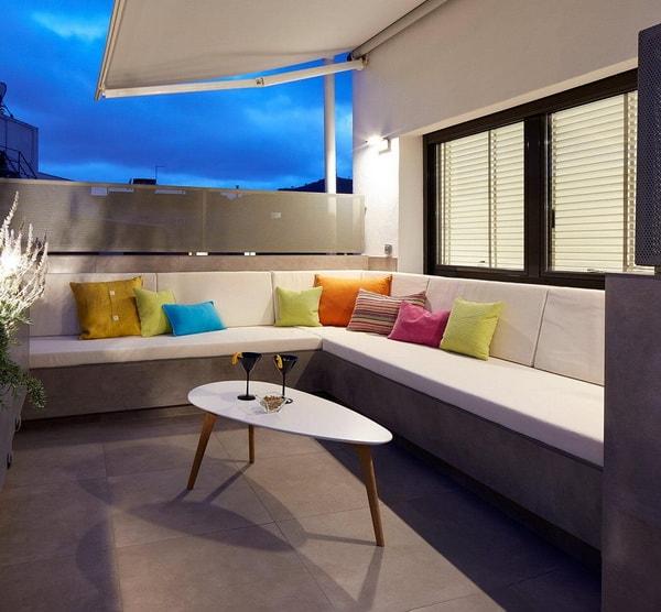 Sombra en terrazas