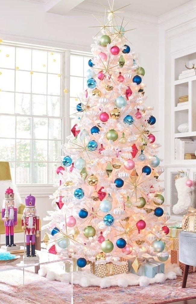 Decoración navideña multicolor