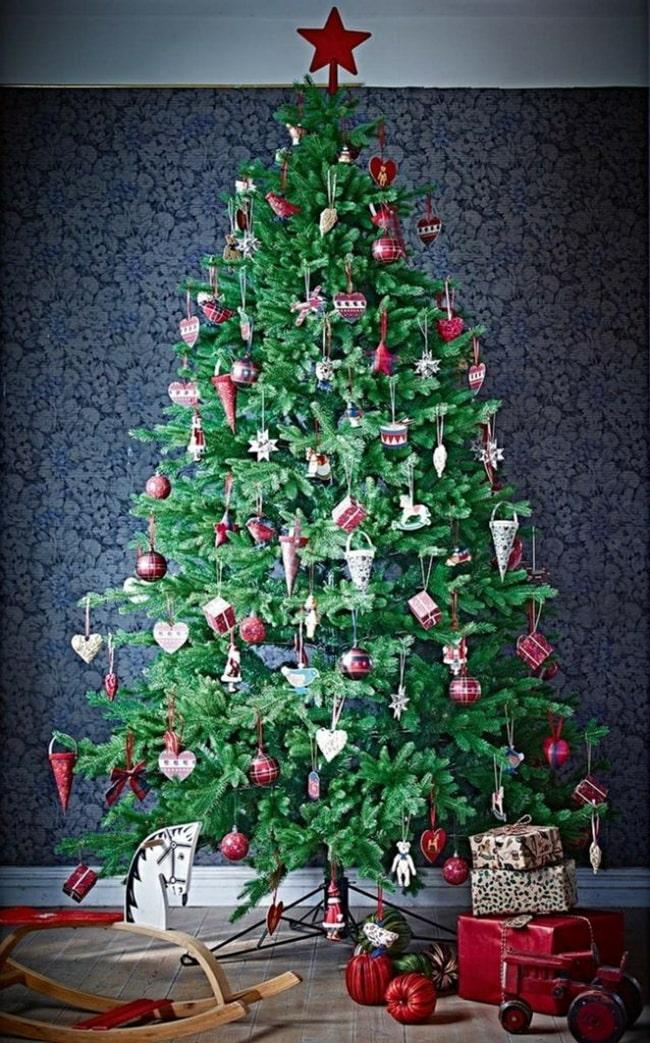 Navidad en rojo y verde