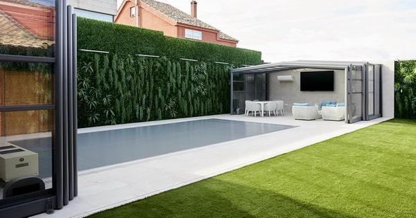 Tendencias en cubiertas de piscinas