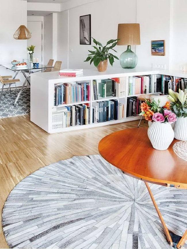 Muebles bajos para delimitar espacios