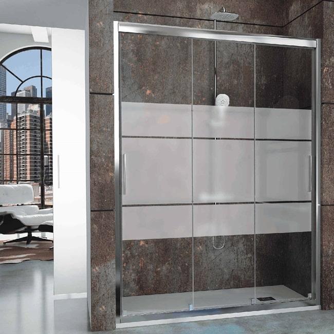 Baños modernos con mampara